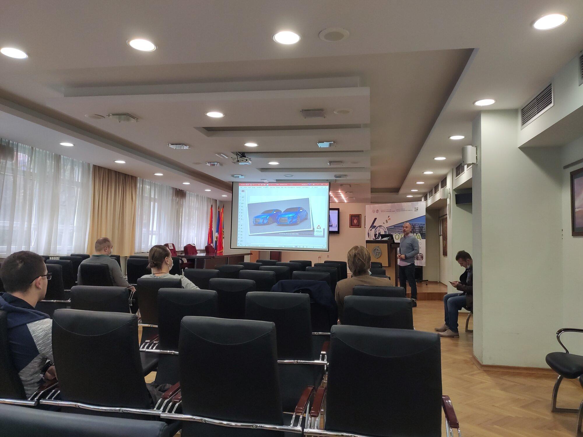 DEPT na prezentaciji softvera Altair