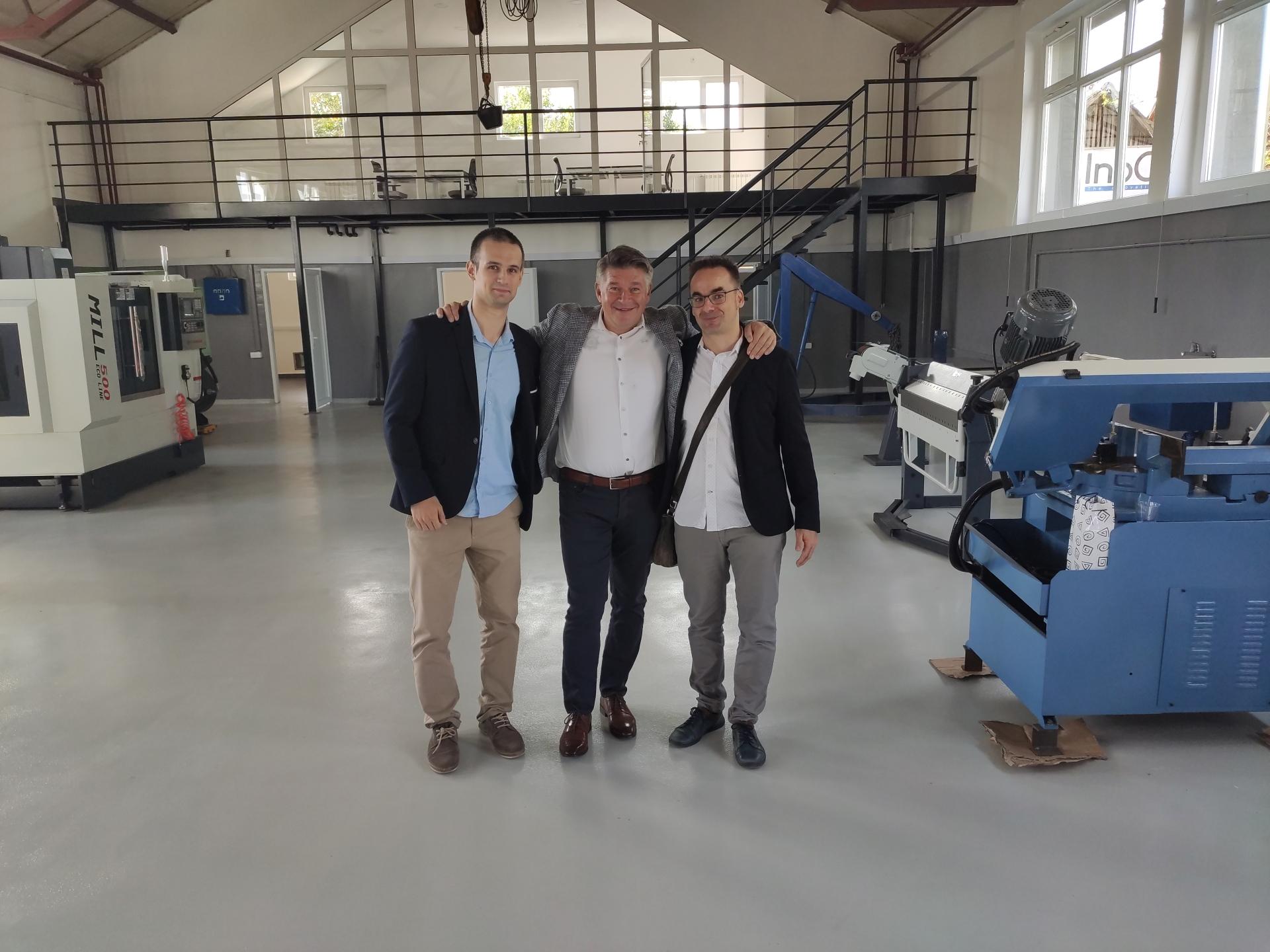 DEPT na otvaranju centra za inovacije kompanije InoCoa